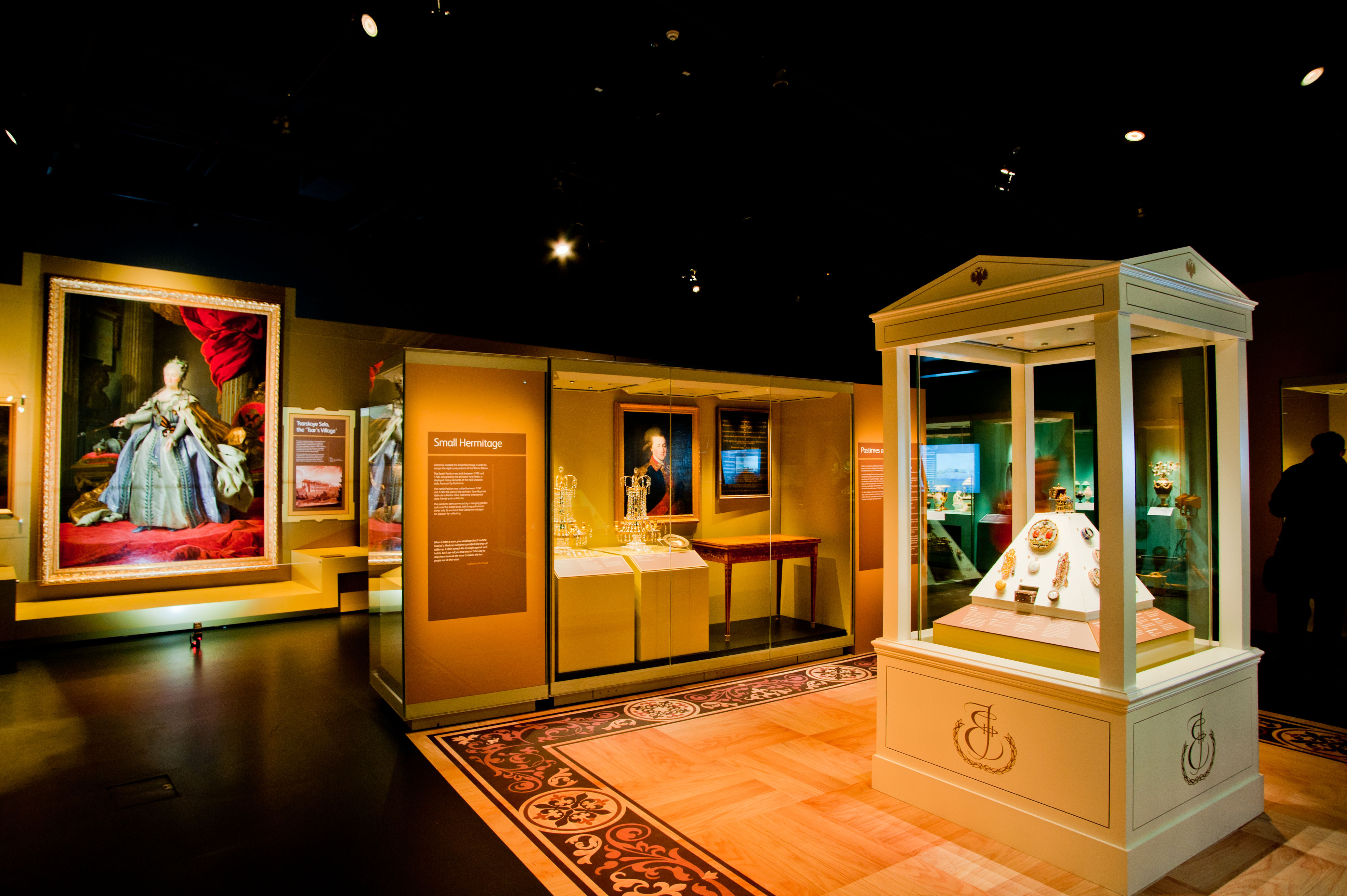 Small Exhibition Stand Examples : Catherine the great examples of exhibition stands portfolio