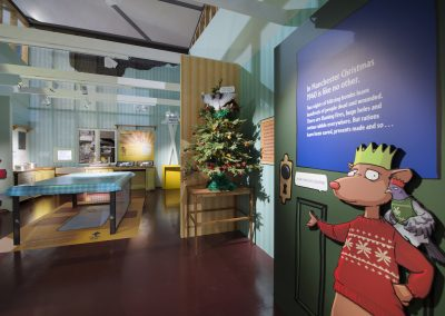 BLITZED BRITAIN Examples of Exhibition stands Portfolio