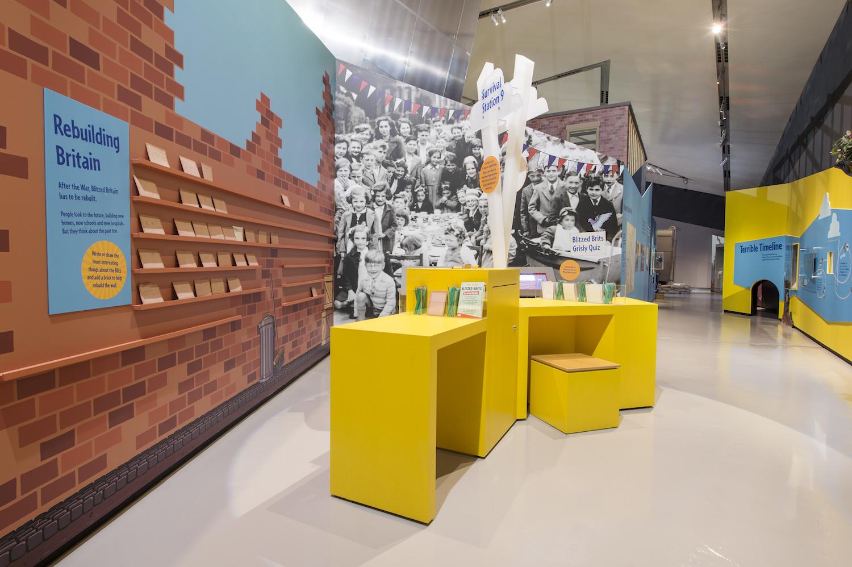 Portable Exhibition Quiz : Blitzed britain eastern exhibition and display portfolio