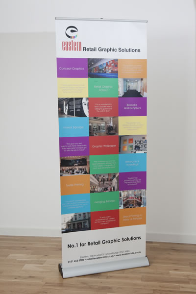 Roll-Up Banner 800mm Wide