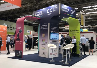 CCL Logistics Exhibition Stand