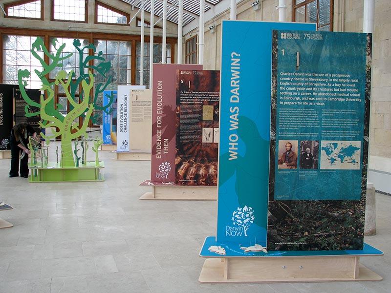 who was darwin museum displays