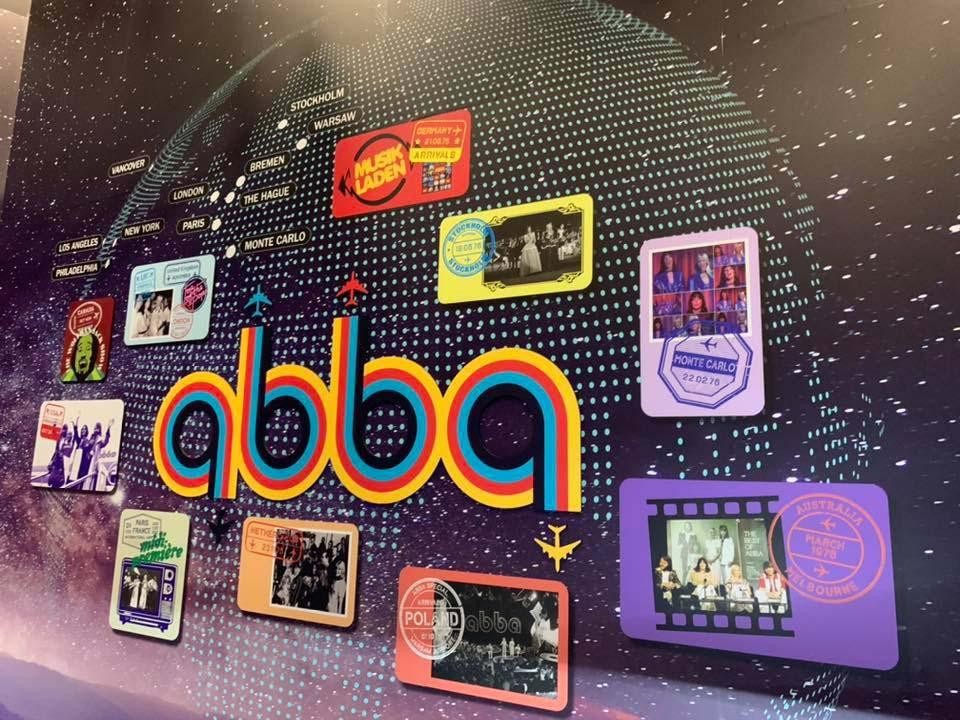 the ABBA exhibition