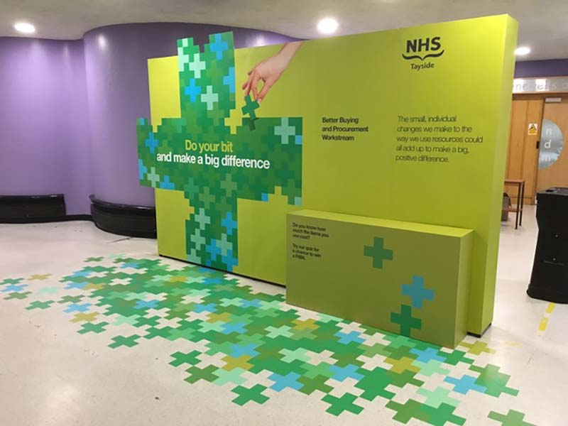 NHS do you bit exhibition