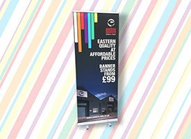 eastern exhibition banner from only £99