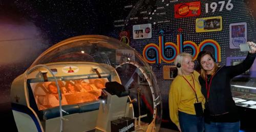 exhibition for the pop group ABBA
