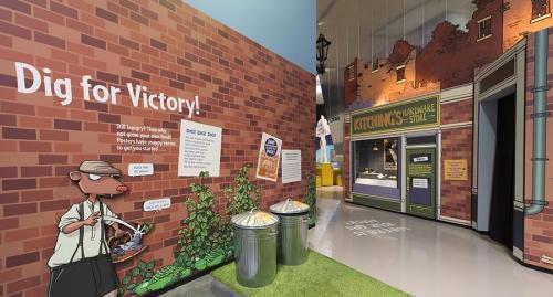 blitzed britain exhibition