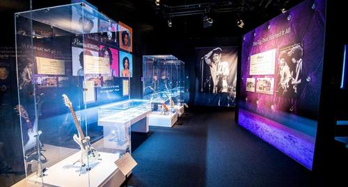 prince and elvis on tour exhibition at the O2
